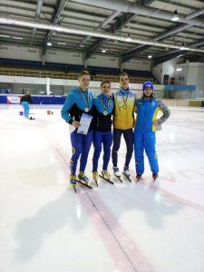 З 25 по 27 грудня 2019 року в м. Харкові відбувся Кубок України з шорт-треку серед дорослих.