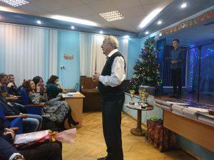 27 грудня 2019 року в Харківському професійному коледжі спортивного профілю відбулося Новорічне свято.