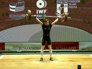 """На Кубку світу з важкої атлетики, який з 27 по 31 січня проходить в столиці Італії, срібною медаллю відзначилася Каміла Конотоп, студентка 2 курсу КЗ """"ХПКСП"""" ХОР ."""