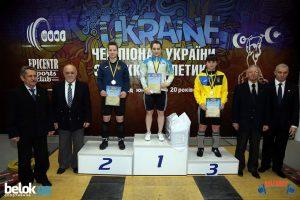 В м. Коломия Івано-Франківської області з 4 по 8 лютого проходив чемпіонат України з важкої атлетики серед юніорів до 20 років.