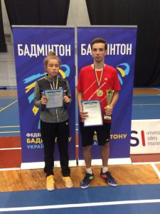 З 24 по 27 вересня 2020 року в м. Києві вібувся чемпіонат України з бадмінтону серед молоді 2002 р.н. і молодше.