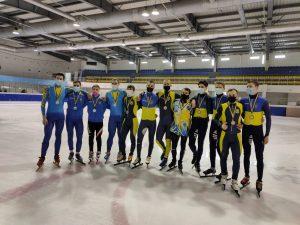 З 10 по 12.02.2021 р. в м Харків пройшов Чемпіонат України серед дорослих.