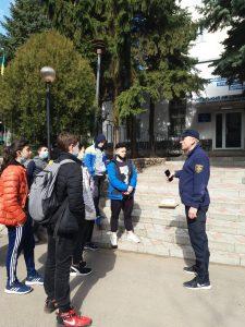 29 березня 2021 року вихованці коледжу відвідали 27-му Державну пожежно-рятувальну частину Київського району  м.Харкова.