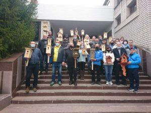 8 квітня 2021 року в Харківському професійному коледжі спортивного профілю традиційно святкують День прильоту птахів.