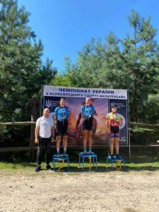 У м.Чернівці з 11 по 15 серпня пройшов черговий чемпіонат України в багатоденній гонці з велоспорту МТВ.