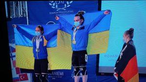 В м. Рованіємі у Фінляндії з 23 вересня по 04 жовтня 2021 р. проходив Чемпіонат Європи серед юніорів та молоді до 23 років.