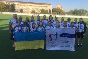 Харків'янки завоювали «срібло» з футболу на Всесвітніх учнівських спортивних іграх U15.
