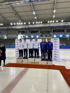 З 07-10.10.2021 в м. Санок (Польща) пройшов ISU Junior Challenge 1 (3 етап Кубку Європи серед юніорів).